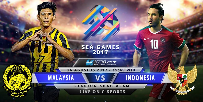 Indonesia vs Malaysia Sea Games Semi Final 2017