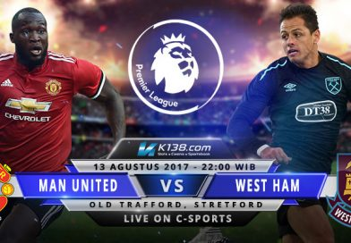 Manchester United vs West Ham United – 13 Agustus 2017