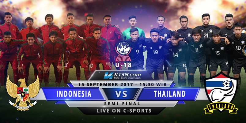 Indonesia vs Thailand AFF U18 U19