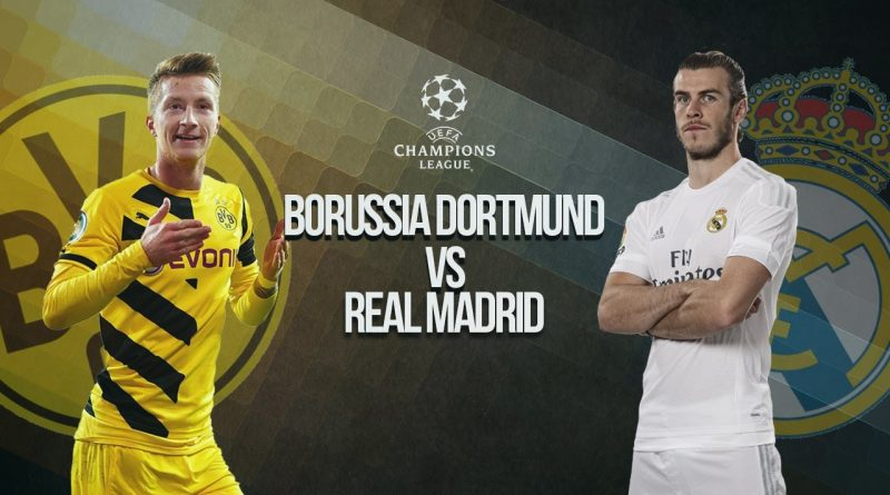 Borrusia Dortmund vs Real Madrid UEFA Liga Champions (Play-Off)