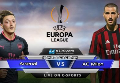 Europa League – Round of 16 – Arsenal vs AC Milan