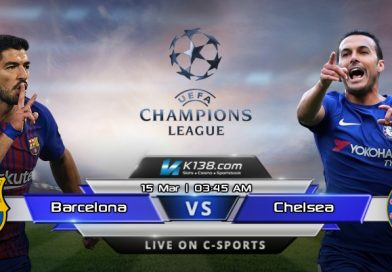 UEFA CHAMPIONS LEAGUE – Barcelona vs Chelsea