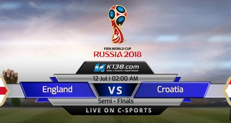 World Cup 2018 – Semi Finals | England vs Croatia
