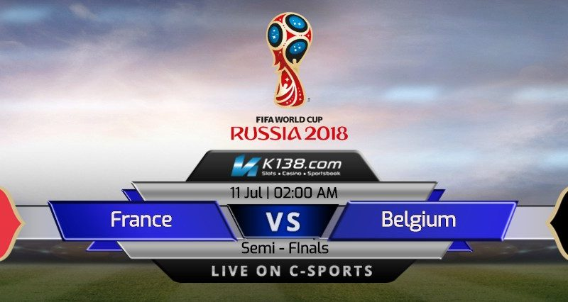 World Cup 2018 – Semi Finals |  France vs Belgium