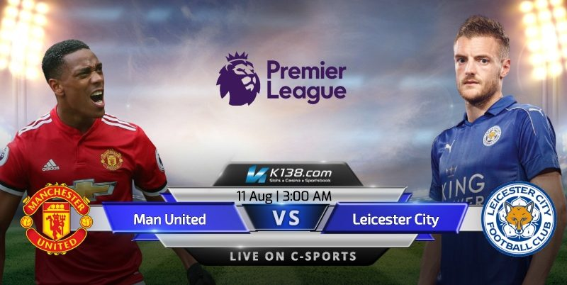 Man united vs Leicseter city