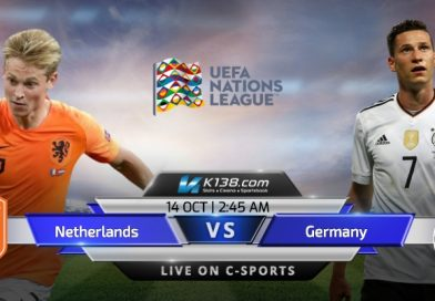 【UEFA NATIONS LEAGUE】Netherlands vs Germany